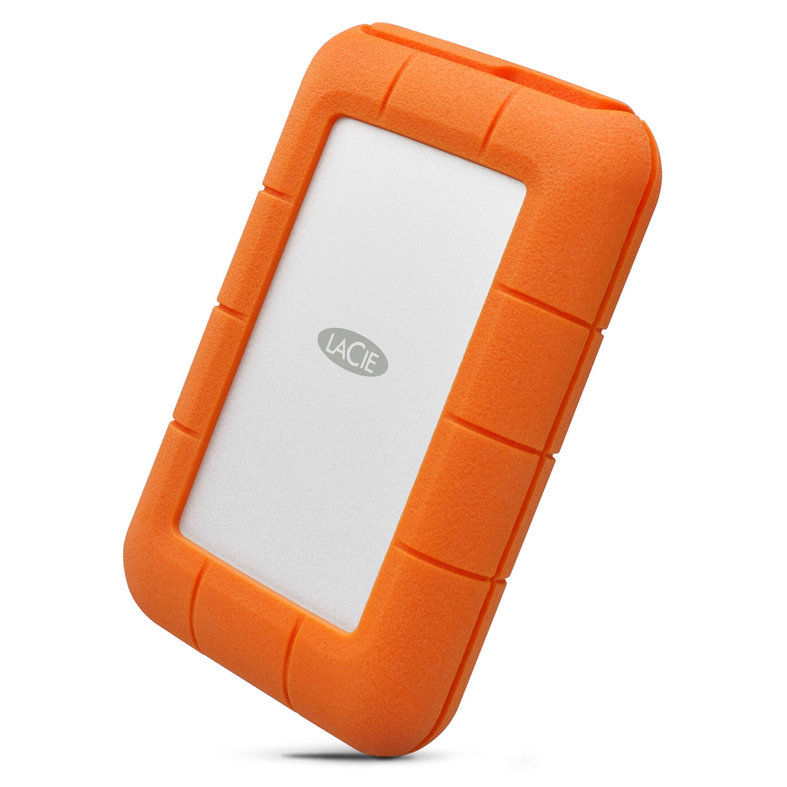 כונן גיבוי חיצוני חזק מאוד,עמיד ברטיבות ואבק Lacie Rugged Thunderbolt Usb-C SSD