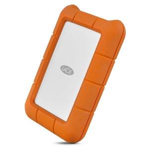 כונן גיבוי חיצוני נייד, עמיד ומהיר Lacie Rugged Mini Usb-C