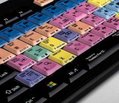 מקלדת עריכה Logickeyboard Adobe Premiere Pro CC – PC ASTRA Backlit