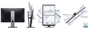 מסך מחשב לעריכת וידאו, גיימרים וגרפיקאים Dell P2419H 24-inch IPS