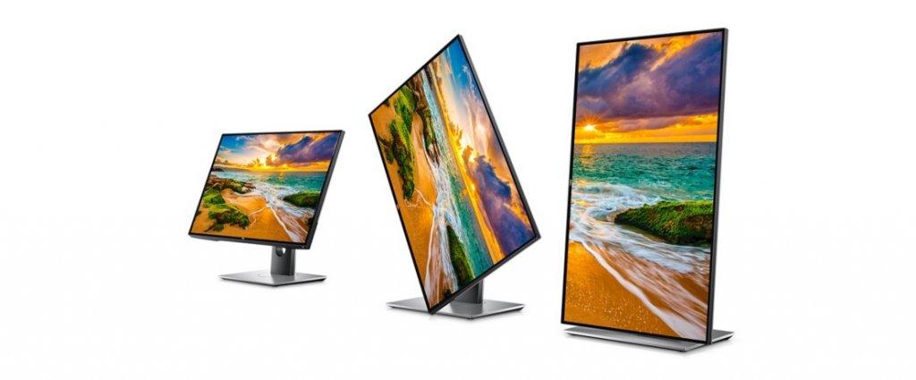 מסך מחשב לעריכת וידאו, גיימרים וגרפיקאים Dell ultrasharp u2718q 27-inch 4k ips monitor