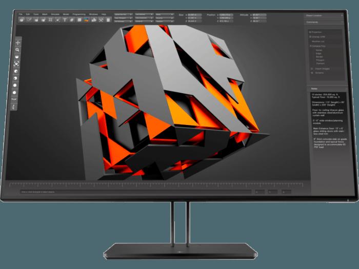מסך מחשב לעריכת וידאו, גיימרים וגרפיקאים HP Z32 31.5-inch IPS 4K UHD