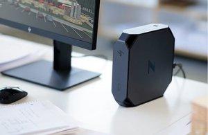 תחנת עבודה מקצועית למעצבים, עורכי וידאו וסאונד HP Z2 MINI G4