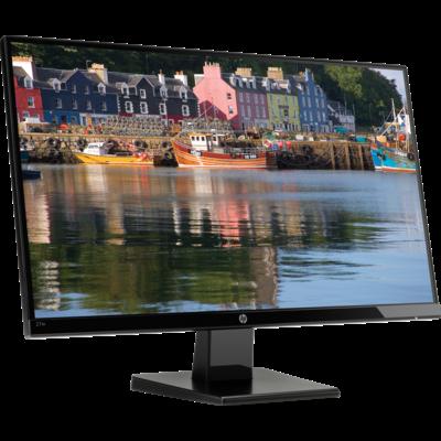 מסך מחשב לעריכת וידאו, גיימרים וגרפיקאים HP 27w 27-inch IPS