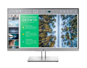 מסך מחשב לעריכת וידאו, גיימרים וגרפיקאים HP EliteDisplay E243 23.8-inch IPS