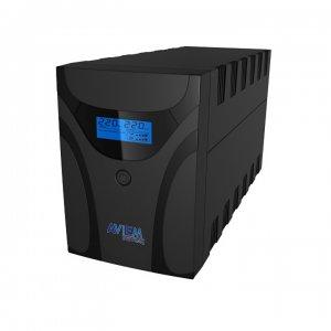 מערכת אל פסק לגיבוי של מחשב חזק,שרת או תחנת עבודה aviem pro 1200VA